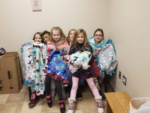 Huge shout out to the Girl Scout Troop #568 who took the time to make these beautiful blankets for the animals at HART! Thank you so much for thinking of the animals this holiday season.
