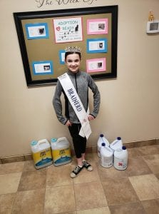 Little Miss Brainerd, Lauren, always has the animals best interests in mind! Thank you so much for all your hard work and dedication!