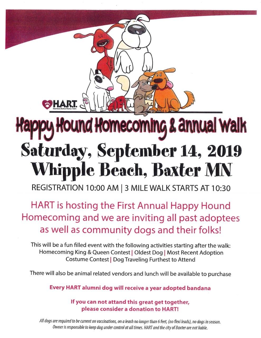 Brainerd Baxter Animal Shelter - Heartland Animal Rescue Team MN